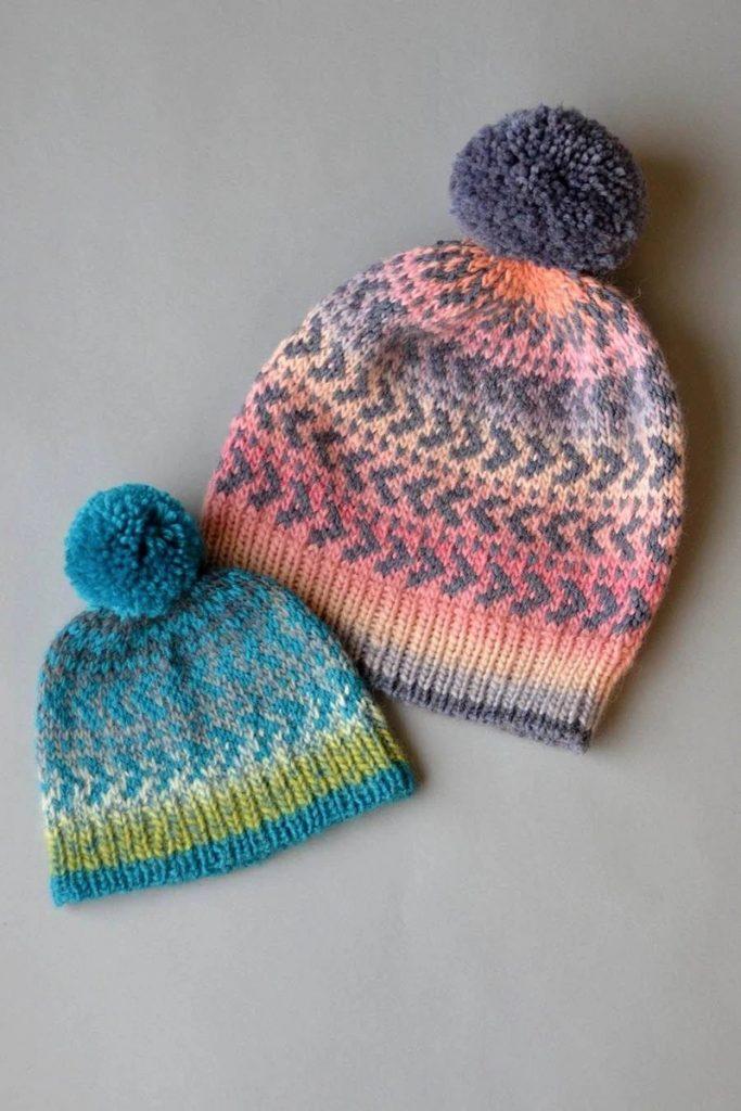 Fair Isle Coco Alpine Hat