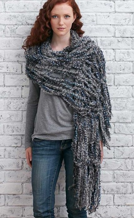 Craft an Arm-Knitted Shawl