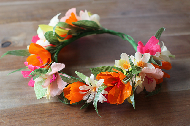 Flower Crown for Kids