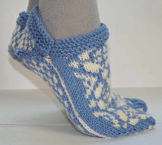 Fair Isle Nordic Slippers