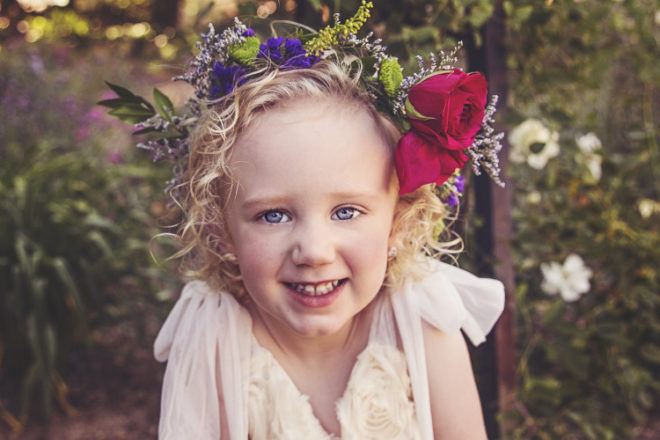 Flower Crown for Kids from Crafts Unleashed