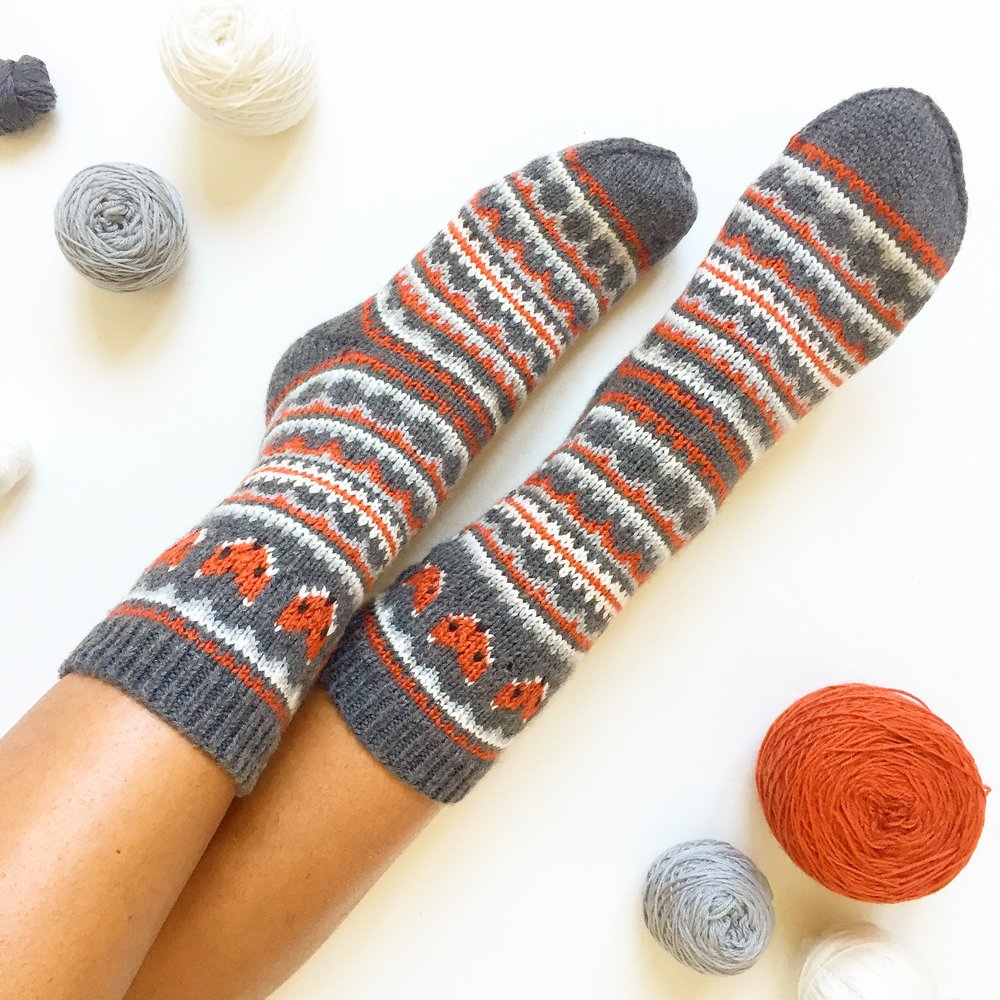 Fox Isle Socks