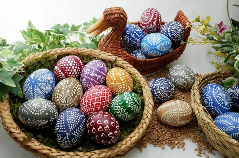 Create Silk Tie Easter Eggs