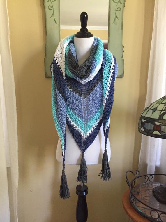 Crochet Winter Scarf Pattern