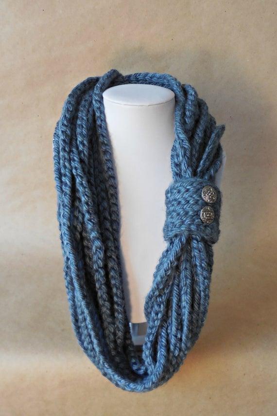 Platinum Cowl Free Crochet Pattern