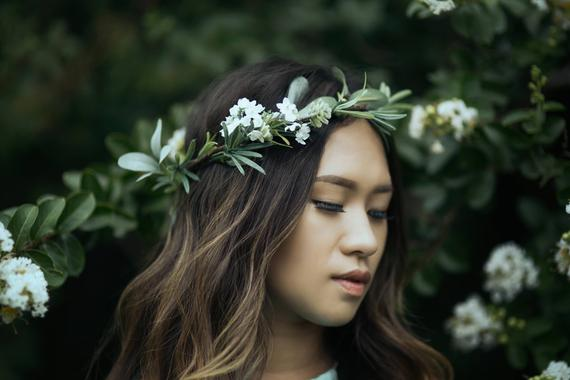 Greenery Flower Crown