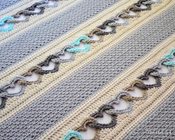 Follow Your Heart Crochet Blanket Pattern