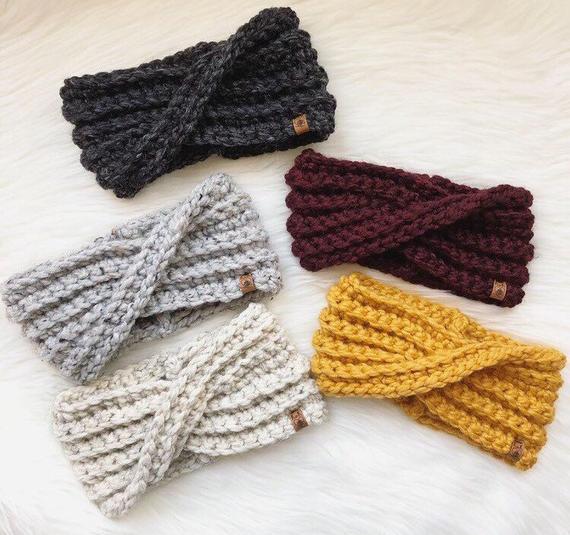 Crochet Winter Earwarmer