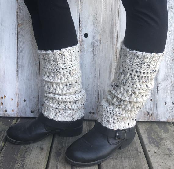 Winter Crochet Legwarmers