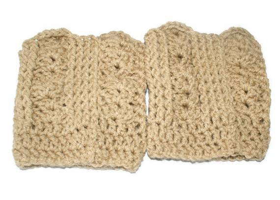 Crochet Butt Cuffs Free Pattern