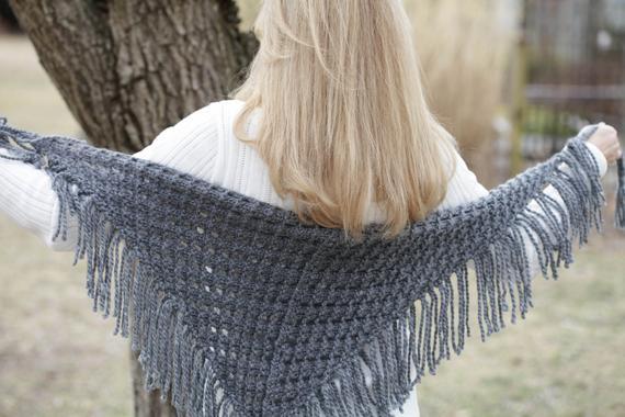 Wrap Yourself in a Loom-Knit Shawl