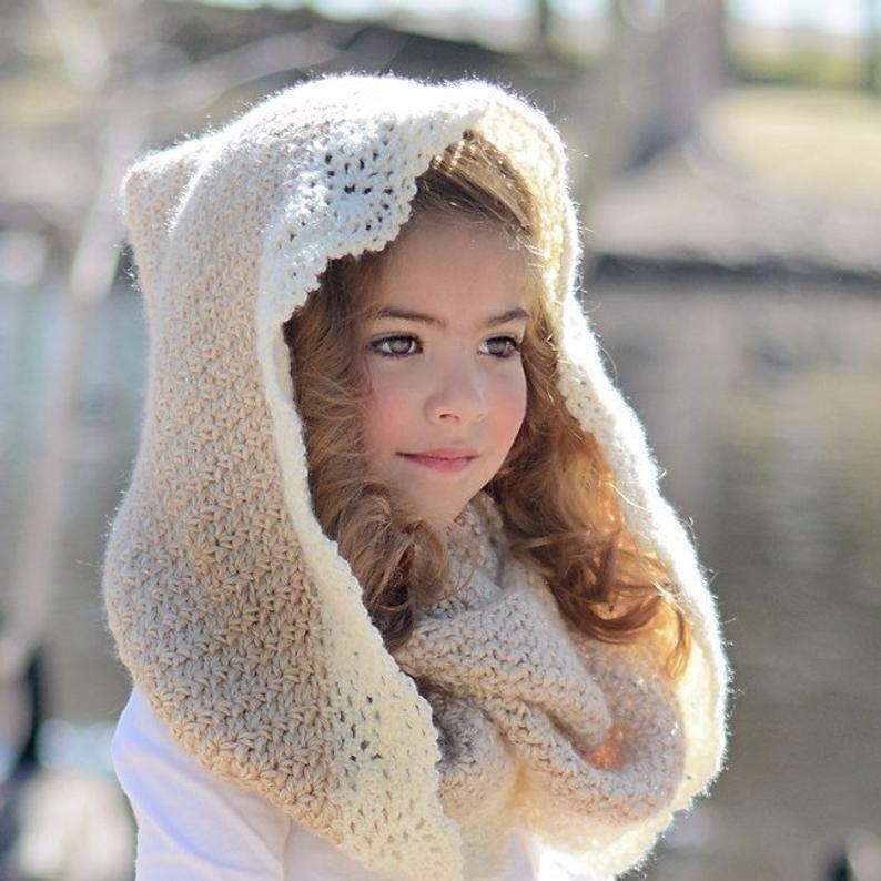 Winter Crochet Hood