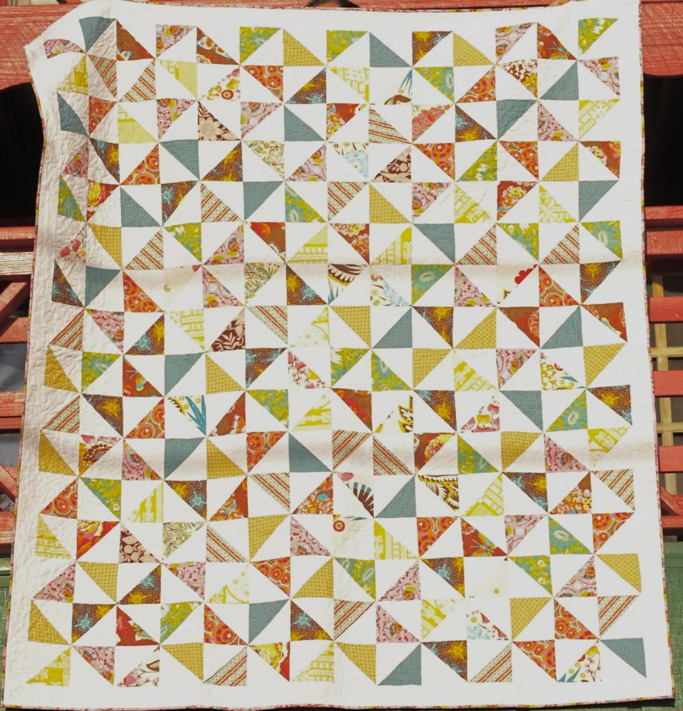 Pinwheel Quilt Pattern Picture