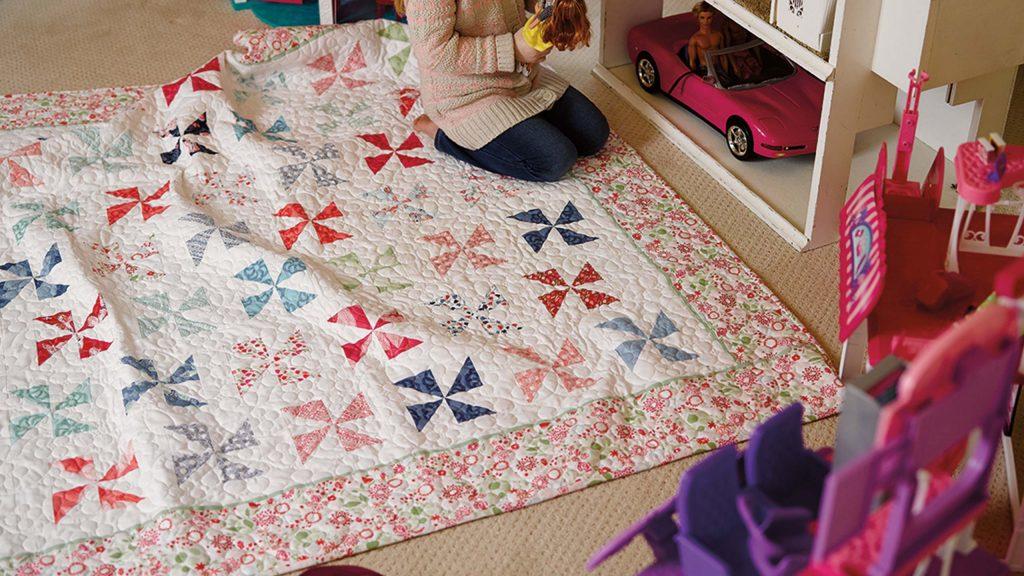 Pinwheel Quilt DIY