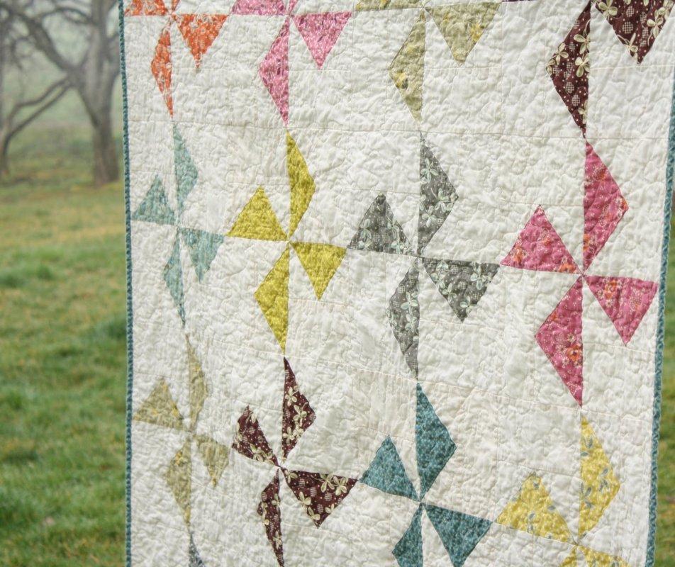 Free Pattern to Make a Pinwheel Quilt