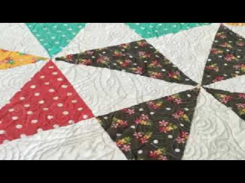 How to Make a Pinwheel Quilt