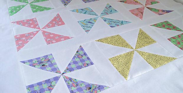 Handmade Pinwheel Block Tutorial