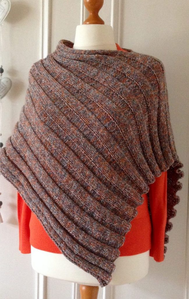 Poncho Knitting Pattern for Beginner