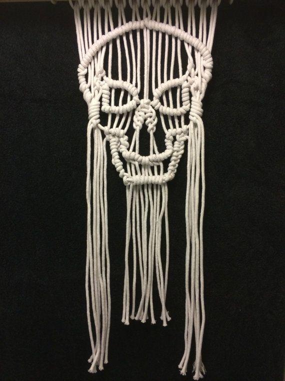 Halloween Macrame Wall Hanging Pattern