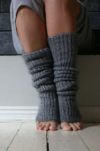Chunky Slouchy Leg Warmers
