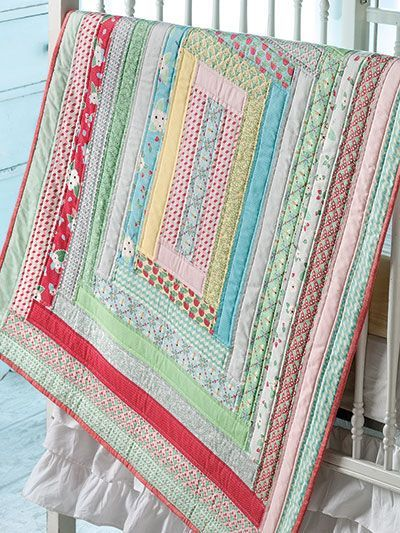 Jelly Roll Strip Quilt Pattern
