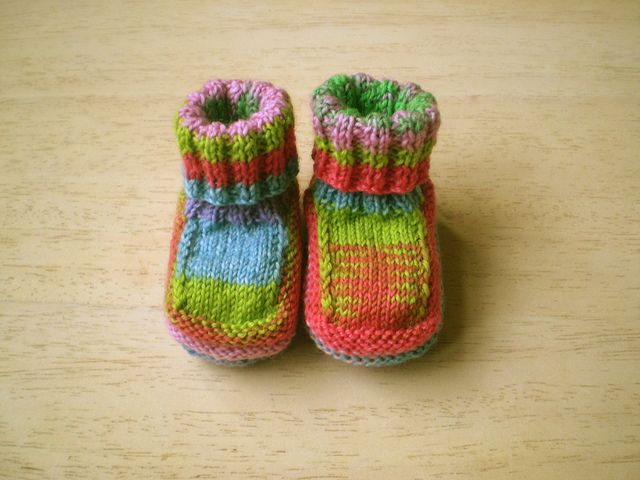Flat Knit Stinkin Cute Baby Boots