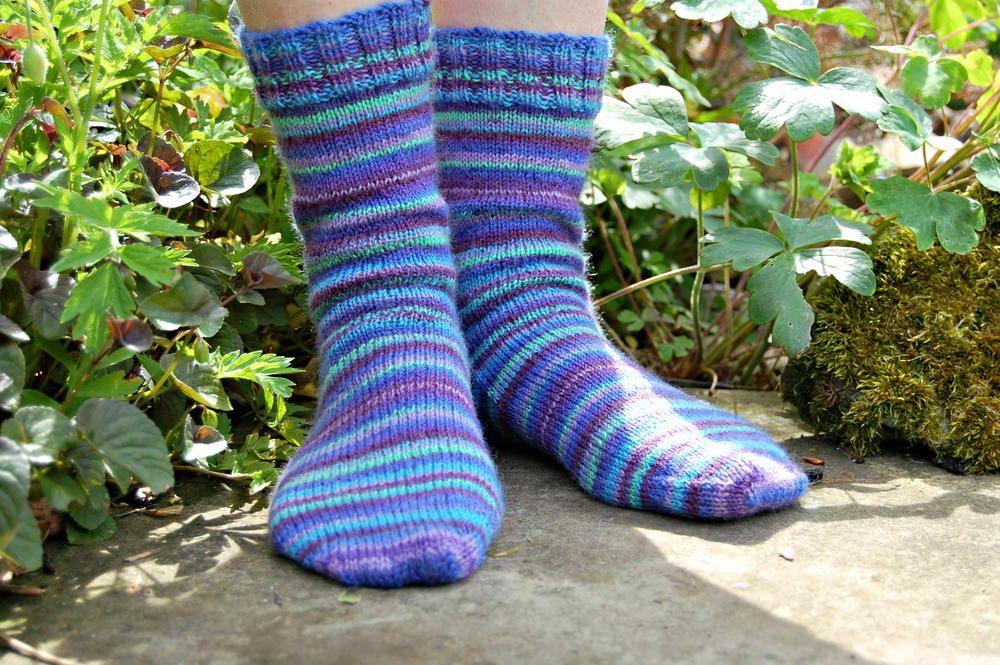 Basic Striped Socks