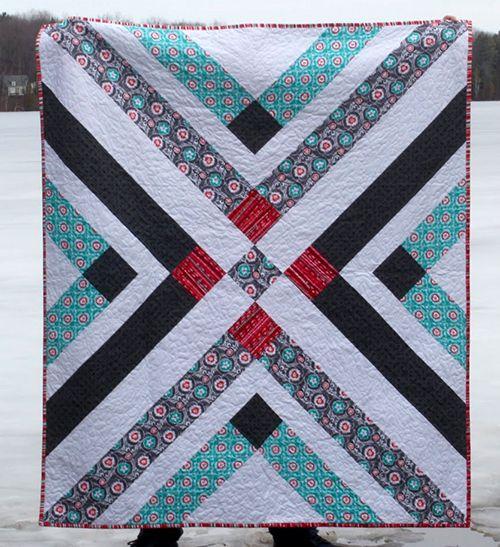 Retro Plaid Free Quilt Pattern