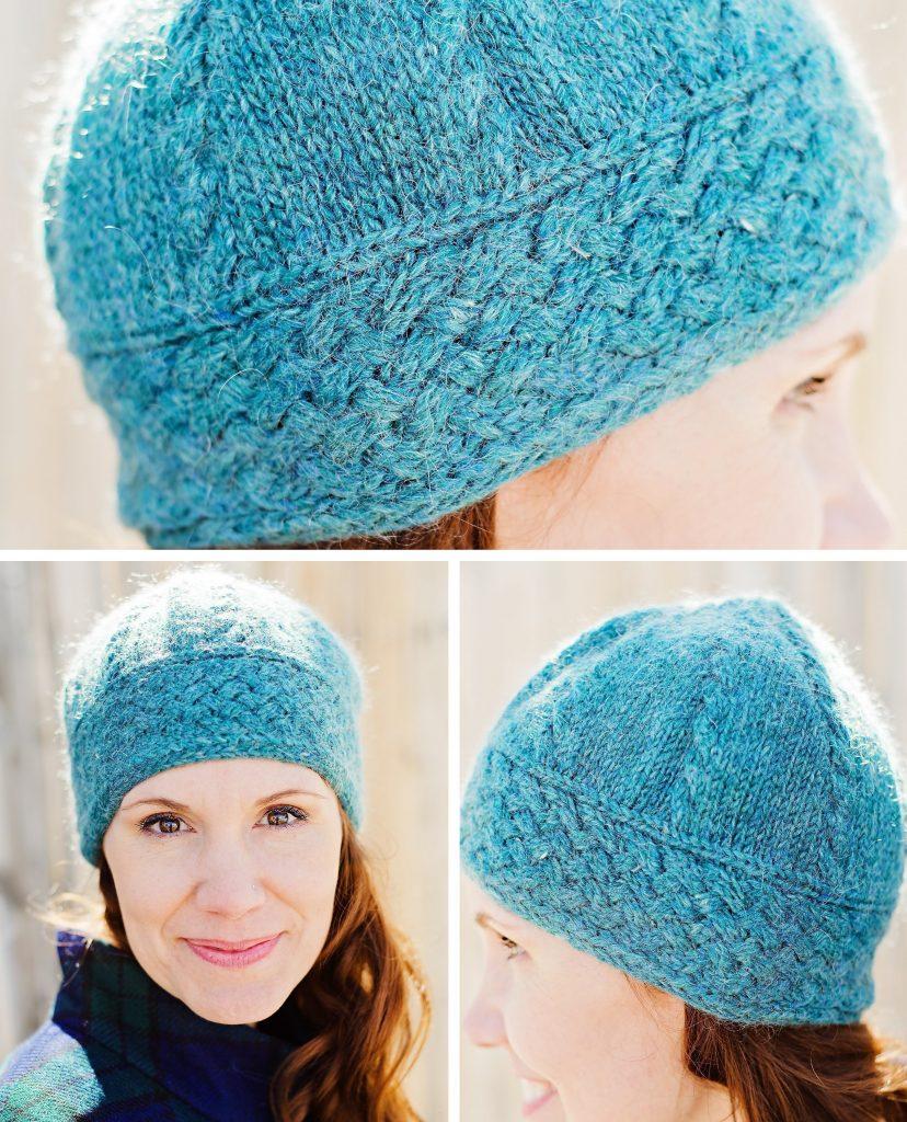 Blue Spruce Hat Knitting Pattern