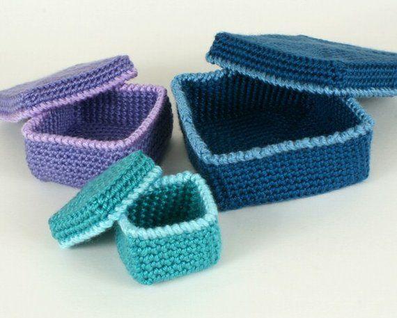 Reusable Gift Box Crochet Pattern