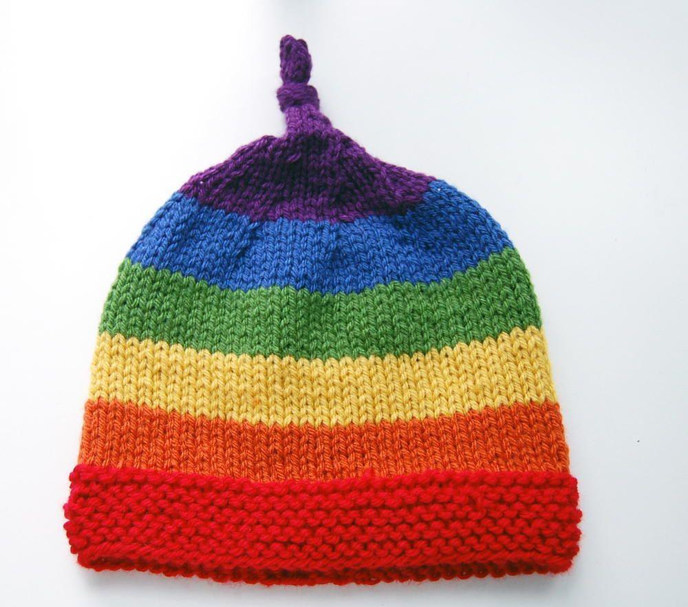 Rainbow Children's Beanie