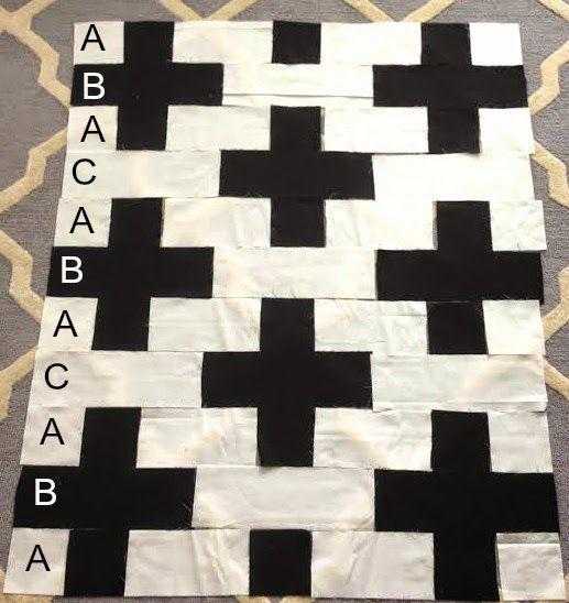 Swiss Cross Quilt Pattern