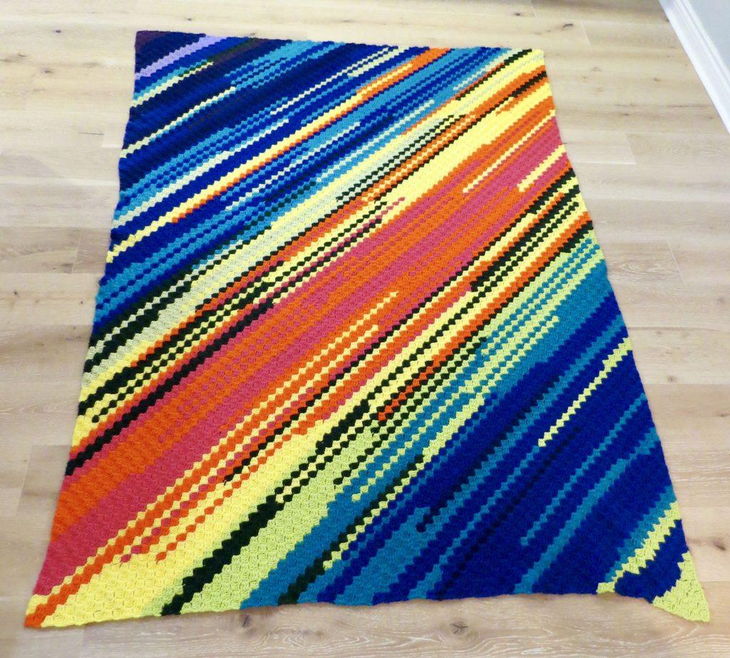 Crochet Temperature Blanket Pattern