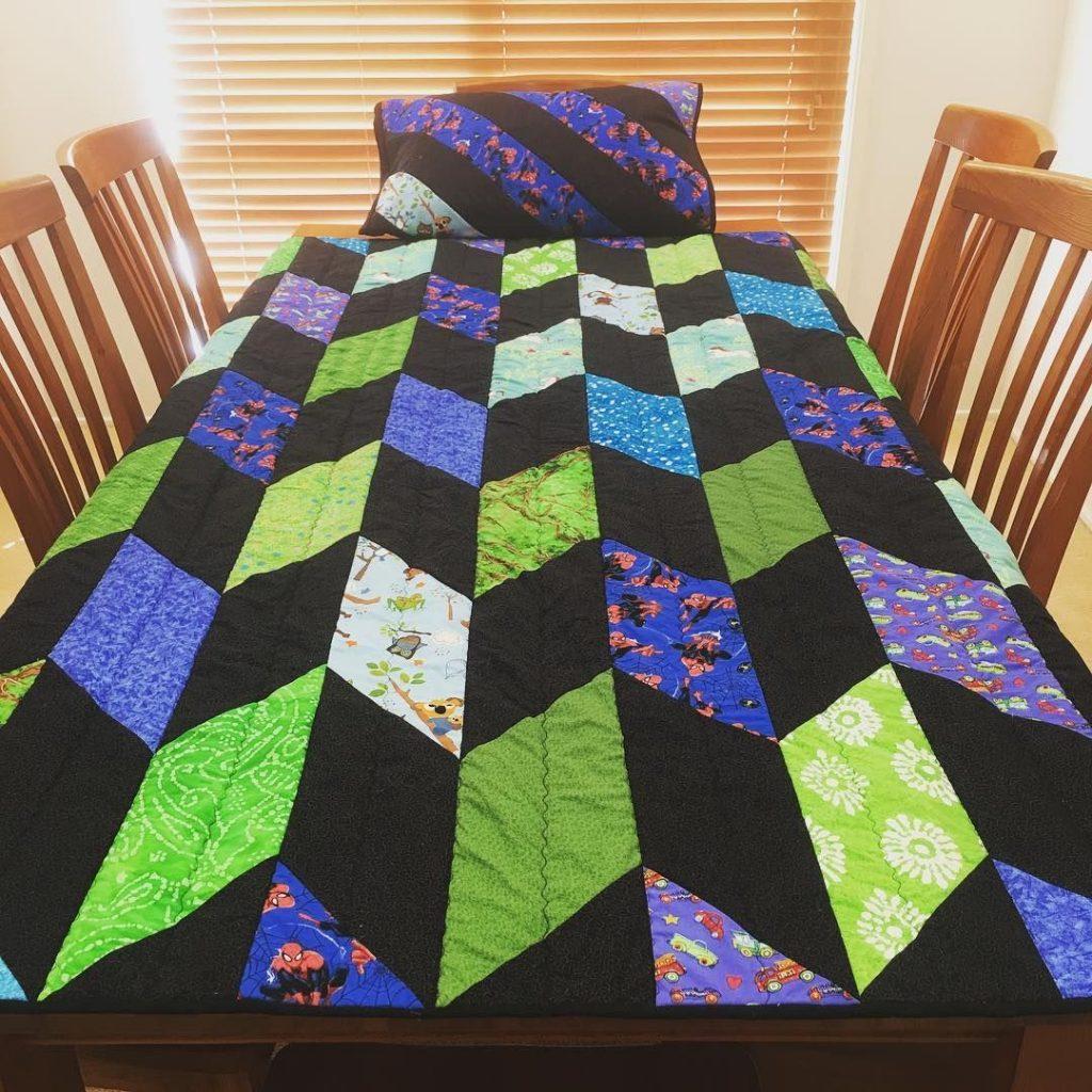 Fletcher Chevron Quilt Pattern