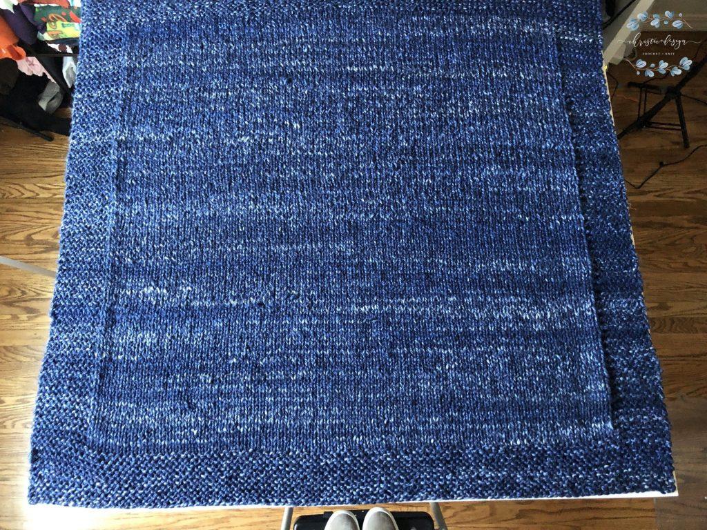 Sophia's Knit Blanket