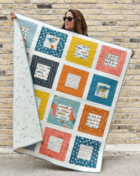 Squared Quilt Pattern