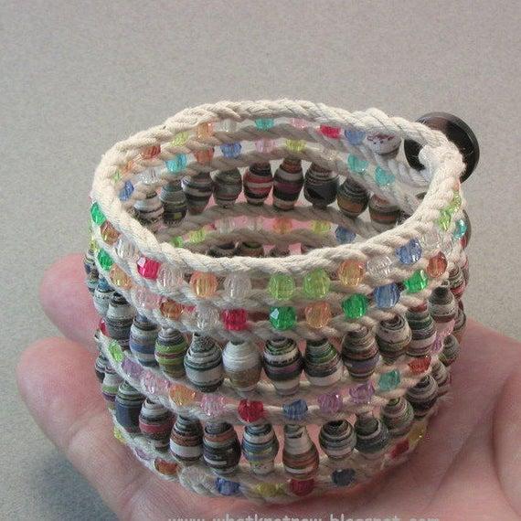Buttoned Cuff Bracelet