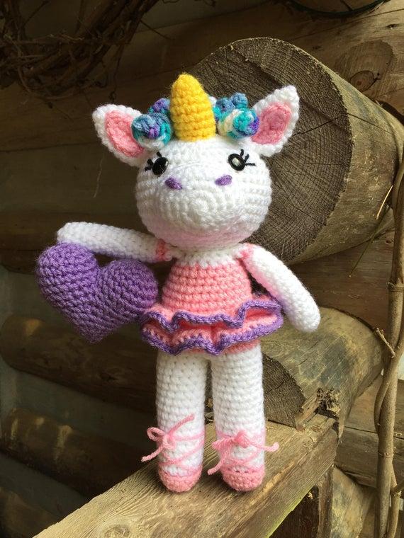 Emma the Unicorn crochet pattern