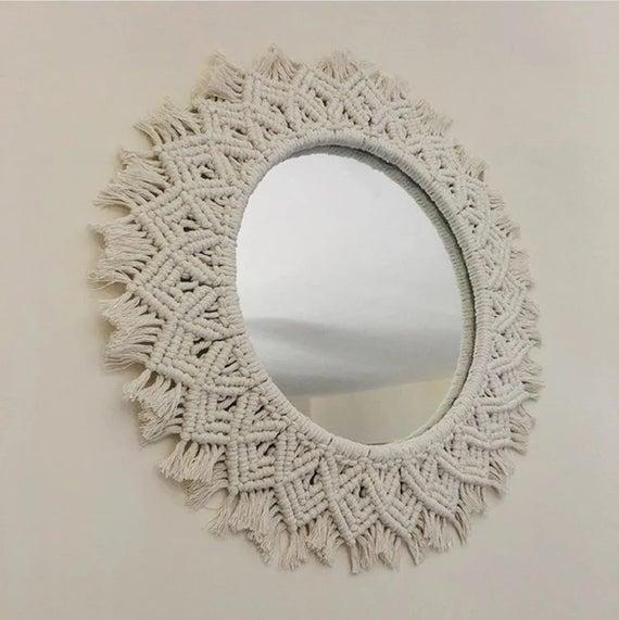 Bohemian Mirror Wall Hanging