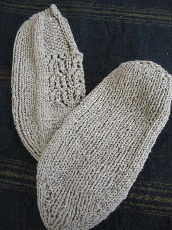 Turkish Cotton Slipper Arch Lace PATTERN