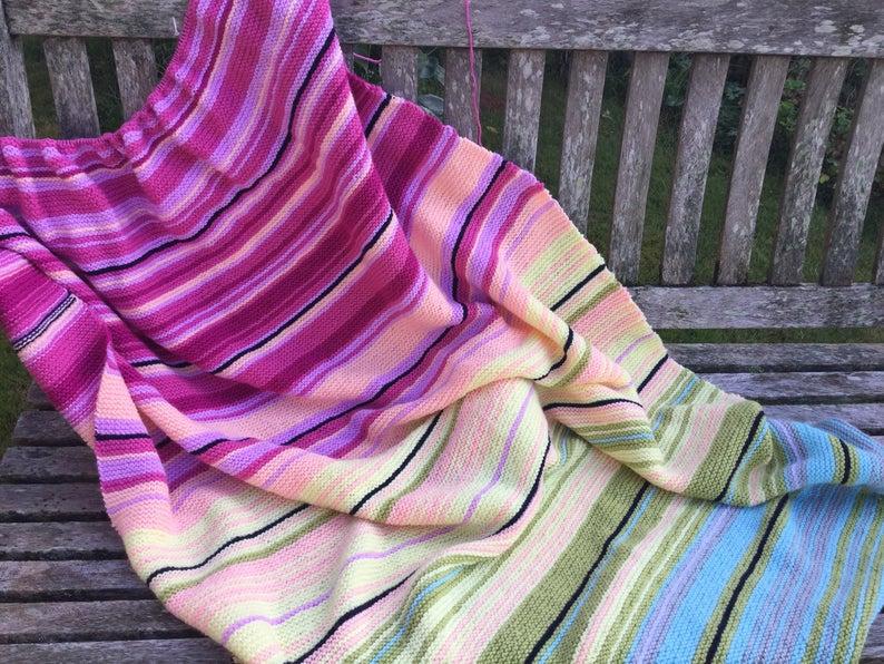 Temperature Blanket Knitting Pattern