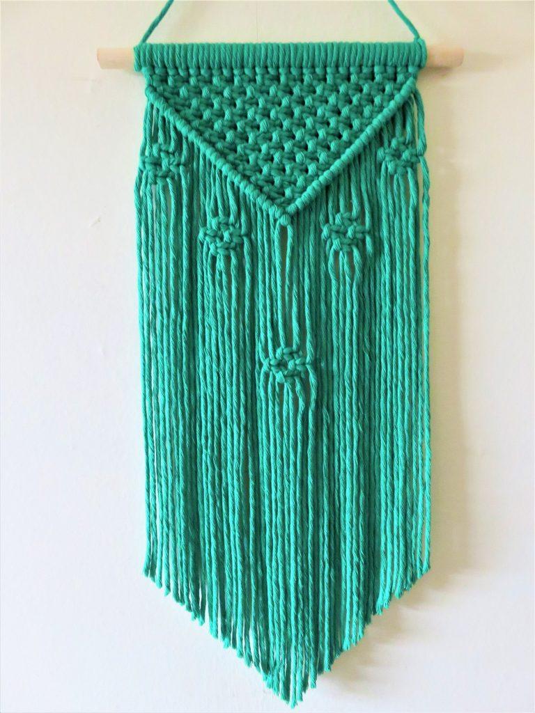 Emerald Macramé Pattern