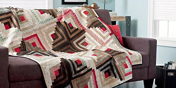 Log Cabin Stash Pattern