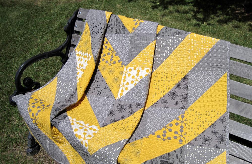 Asymmetrical Wedding Quilt