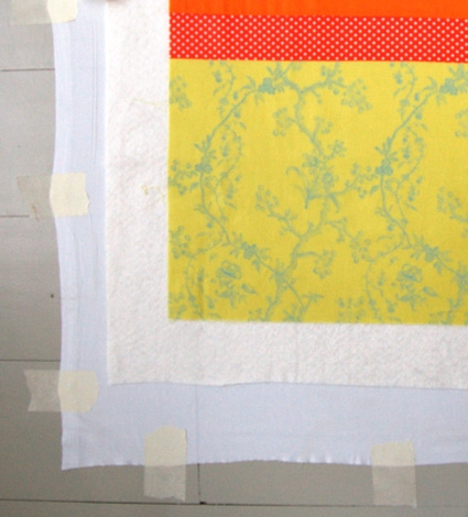 Sunny Tied Quilt