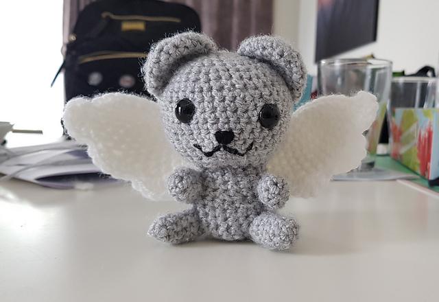 Crochet Angel Bear