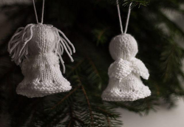 Easy Crochet Angel Ornament