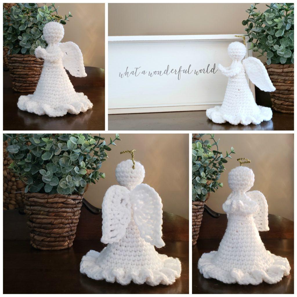 Crochet Angel of Grace