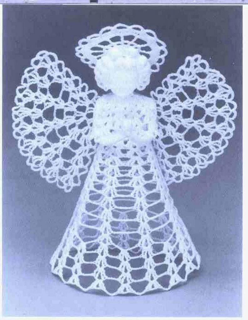 Free Crochet Angel Ornament Pattern