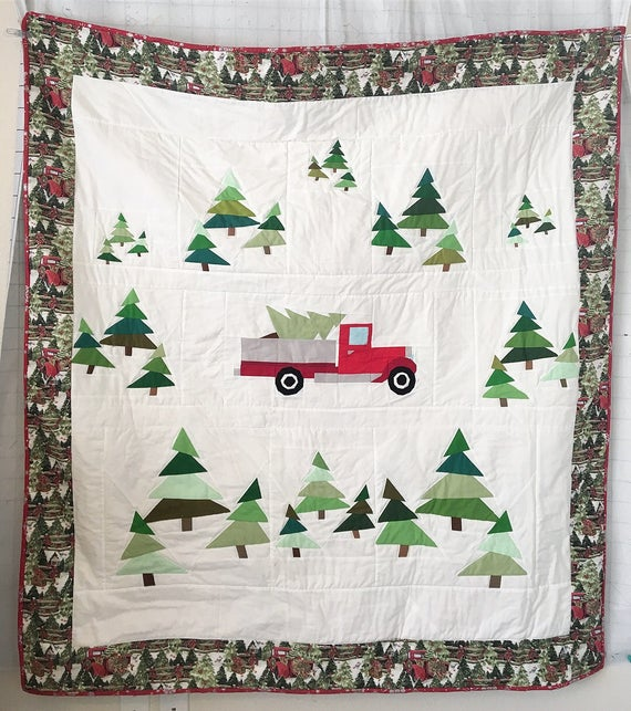 Free Christmas Tree Quilt Pattern